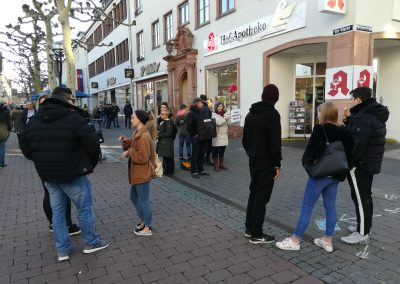 Outreach in Hanau